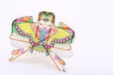 Free Handicraft Kite Stock Photography - 8134572