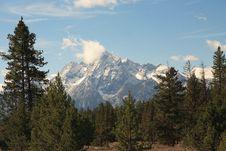 Free Grand Teton, NP Royalty Free Stock Photography - 8134977