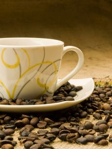 Free Coffee Cup Royalty Free Stock Image - 8135156