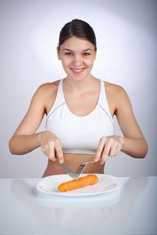 Free Diet Woman Stock Photo - 8135280