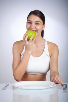 Free Diet Woman Stock Photo - 8135290