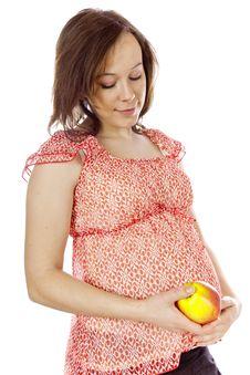 Beauty Pregnant Woman Royalty Free Stock Photos