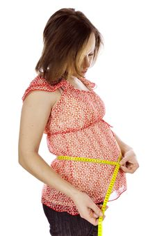 Free Beauty Pregnant Woman Stock Photography - 8135762