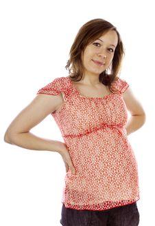 Beauty Pregnant Woman Stock Photos