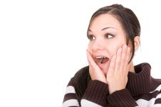 Free Shocked Woman Stock Images - 8136184