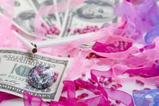 Free Glamour Money Stock Photo - 8136490