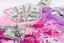 Free Glamour Money Royalty Free Stock Photos - 8136518