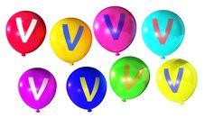 Free Letter V Stock Images - 8136644