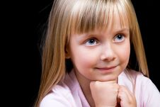 Free Blond Girl Royalty Free Stock Images - 8137529