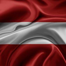 Austria Flag Stock Image