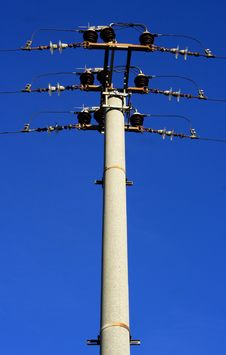 Free Pole Voltage Royalty Free Stock Photography - 8138117