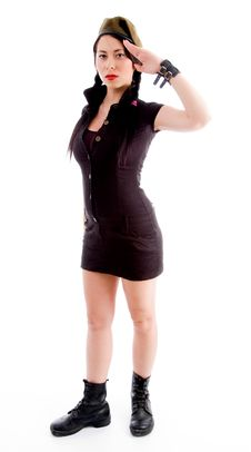 Free Sexy Fashionable Woman In Mini Skirt Stock Photos - 8138233