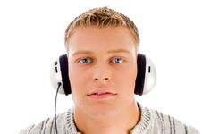 Free Face Of Man Listening To Music Royalty Free Stock Images - 8138569
