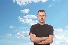 Free Man Stock Image - 8139041