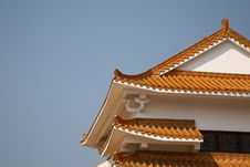 Free Chinese Building Roof Royalty Free Stock Image - 8139796