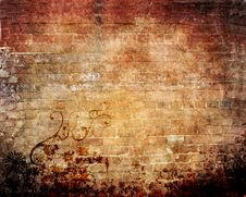Free Abstract Grunge Background Royalty Free Stock Photo - 8139905