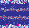 Free Stylish Square Background.Vector. Stock Image - 8140551