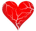 Free Cracked Heart Royalty Free Stock Photography - 8142077