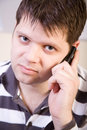 Free Young Man With Cellphone Stock Images - 8146844