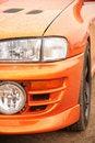 Free Orange Sport Car. Royalty Free Stock Images - 8147499