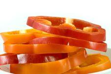 Free Capsicum Slices Stock Photos - 8140353