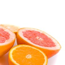 Lemon, Orange And Grapefruit