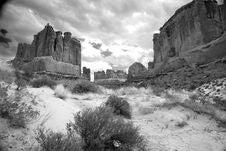 Free Sandstone Canyon Royalty Free Stock Photo - 8140745