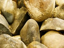 Free Stones An Abstract Background Stock Photography - 8140872