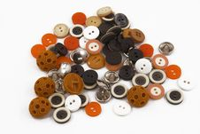 Free Colored Buttons Stock Photos - 8141063