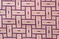 Free Beige Checked Silk Necktie Stock Photos - 8141103