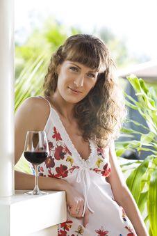Free Wine Portrait Stock Image - 8141311