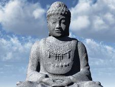 Free The  Buddha Statue Stock Photography - 8141442