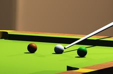 Free Snooker Room Royalty Free Stock Photography - 8141447