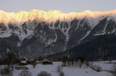 Free Mountain Sunrise Royalty Free Stock Images - 8141699