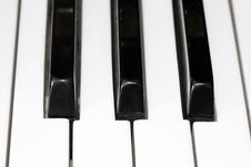 Free Piano Keyboard Royalty Free Stock Photography - 8141957