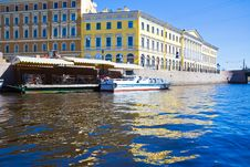 Free Saint Petersburg Canal Stock Photography - 8142022