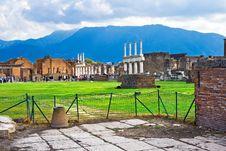 Free Pompeii Royalty Free Stock Image - 8142036
