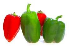 Free Peppers Royalty Free Stock Image - 8142176