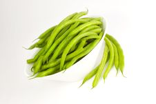 Free Fresh Green Beans Stock Image - 8142621