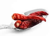 Free Red Hot Peppers Stock Image - 8142661