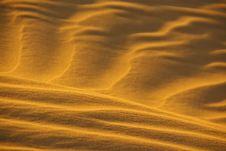 Sunny Desert Sand Stock Photos