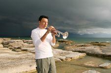 Free Trumpet Stock Photo - 8142960