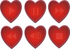 Free Love Buttons Vector Stock Photos - 8143013
