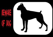 Free Beware Of Dog Royalty Free Stock Photos - 8143028
