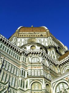The Duomo Of Florence,in Italy Stock Images