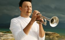 Free Trumpet Stock Photos - 8143523