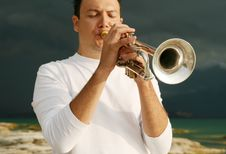 Free Trumpet Stock Photography - 8143562