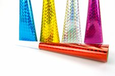 Free Party Squawkers Stock Image - 8143781