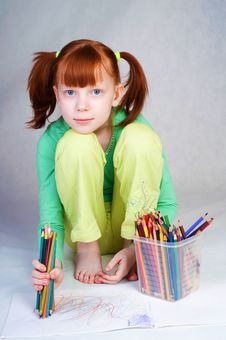 Free The Girl Royalty Free Stock Image - 8144006