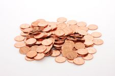 Free Pile Of Pennies Royalty Free Stock Images - 8144419